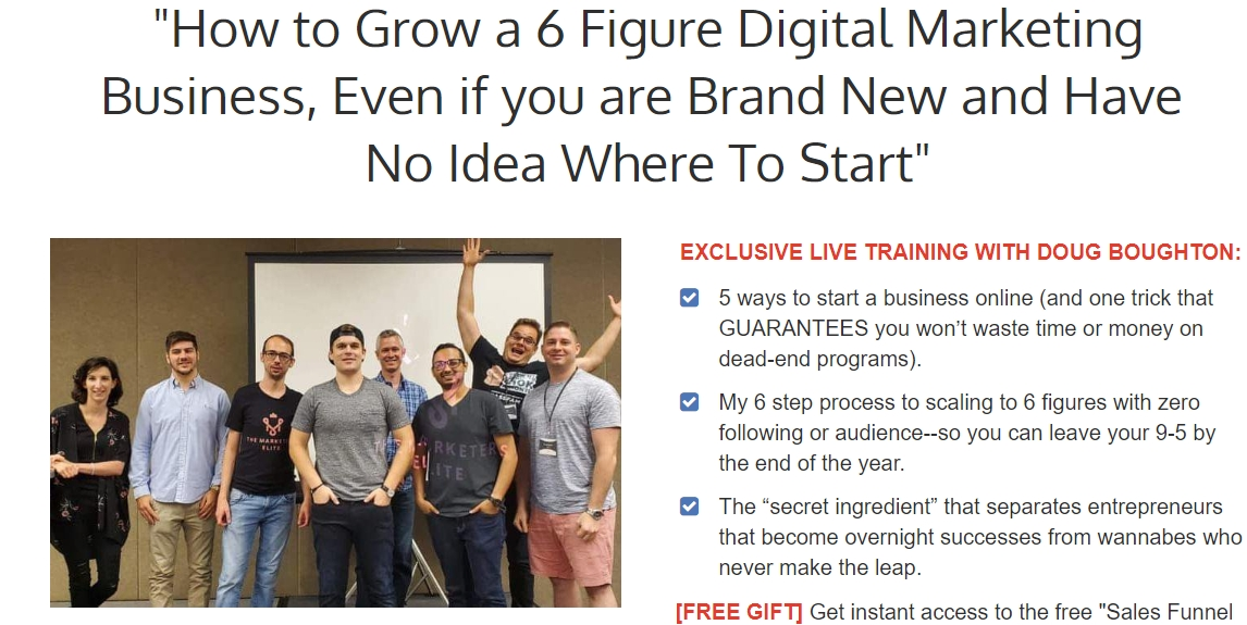 How to Grow a 6 Figure Digital Marketing Business, Even If You Are Brand New and Have No Idea Where To Start